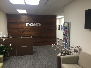 Pond and Company office remodeling job completed by Mayer Building Company in New Orleans, LA